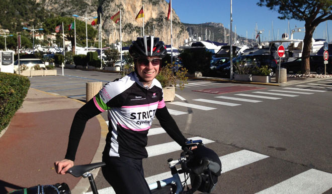 19-Year-Old Cycles For 33,000 KM