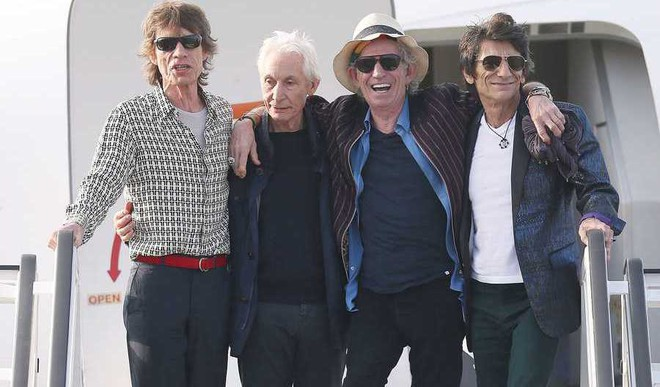 Rolling Stones Back On Top