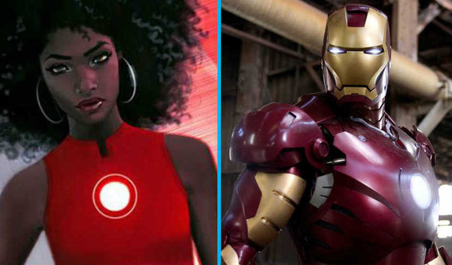 The New Iron Man Is A 15-Year-Old Girl