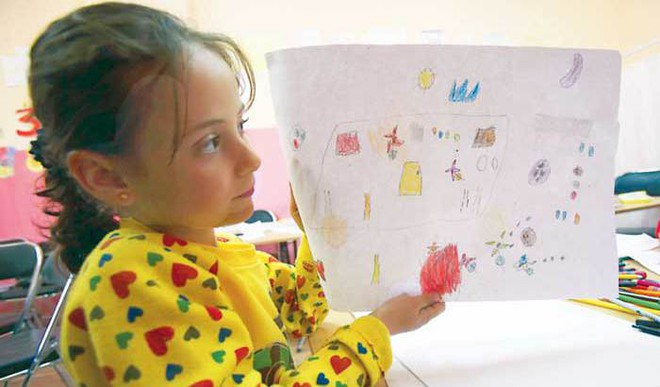 Syrian Children's Art On Display In Shanghai Shows Impact Of War