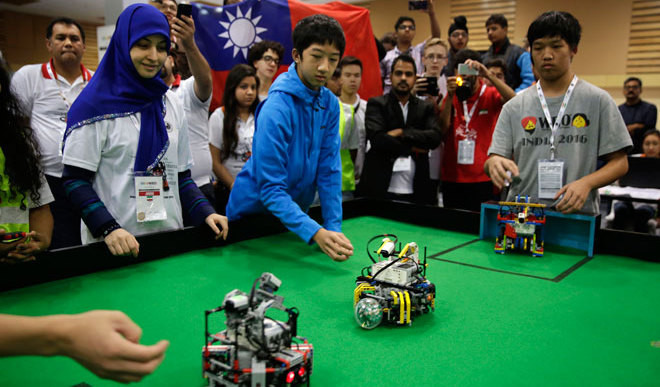 The Young Robot Makers