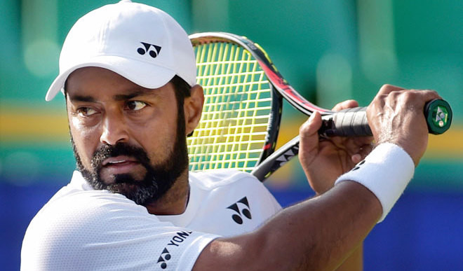 Paes Starts 2017 Season With Defeat