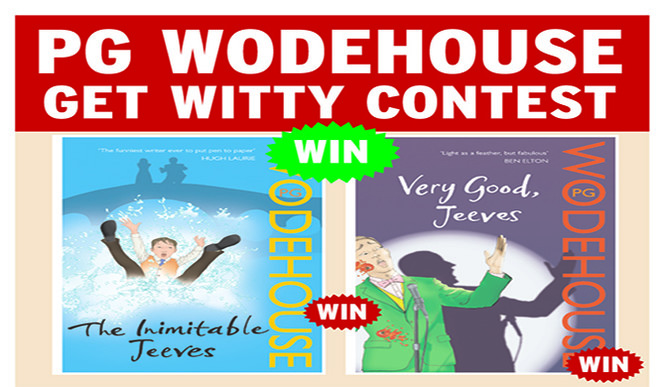 PG Wodehouse Contest: Send Your Entries Now!