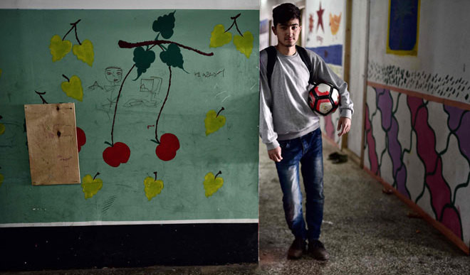 Young Refugees Build New Lives