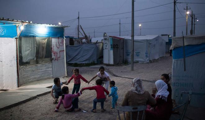 Circus Art Helps Syrian Kids