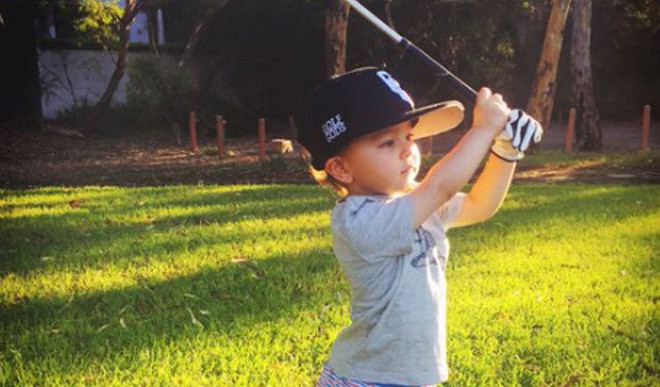 Two-Year-Old Golf Prodigy