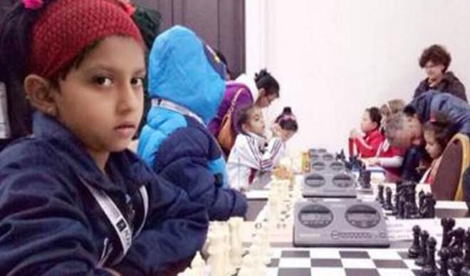 Kid Wins At World School Chess Meet