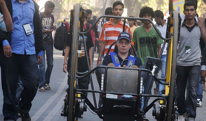Teen With Palsy Has IIT Dreams