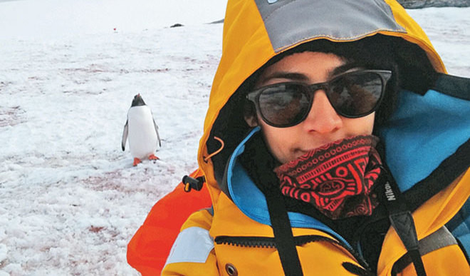 Youngster Crowdfunds Antarctica Trip