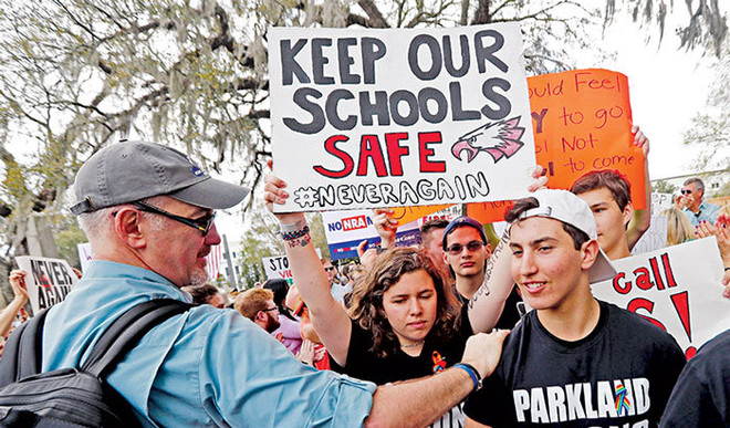 Will Arming Teachers With Guns Help In Solving Gun Shooting Crimes In The US Schools?