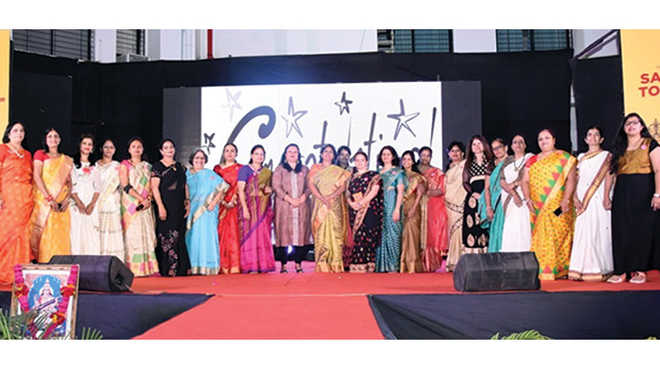 San Queen Award Of Excellence Hosted By MKH Sancheti School