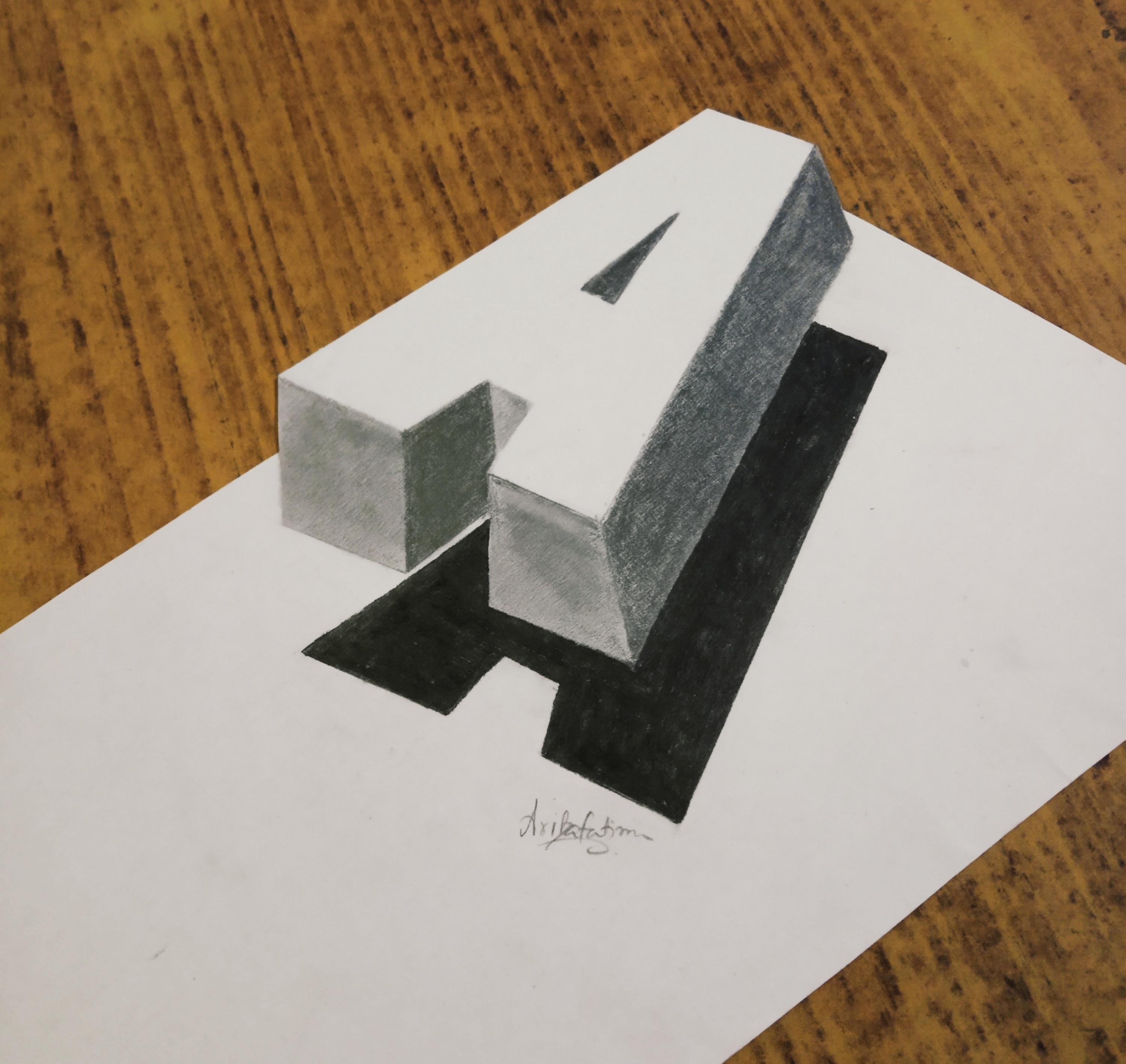 Ariba 's First '3D Art'