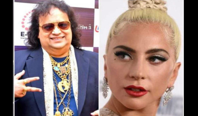 Bappi Lahiri Records Duets With Lady Gaga