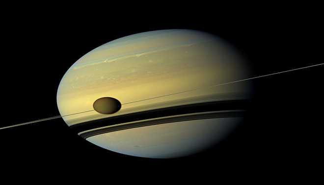 Possibility Of Life On Saturn's Moon