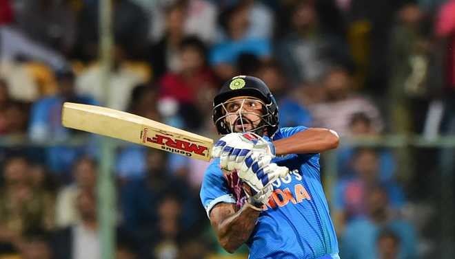 Samson Replaces Dhawan For T20I Series
