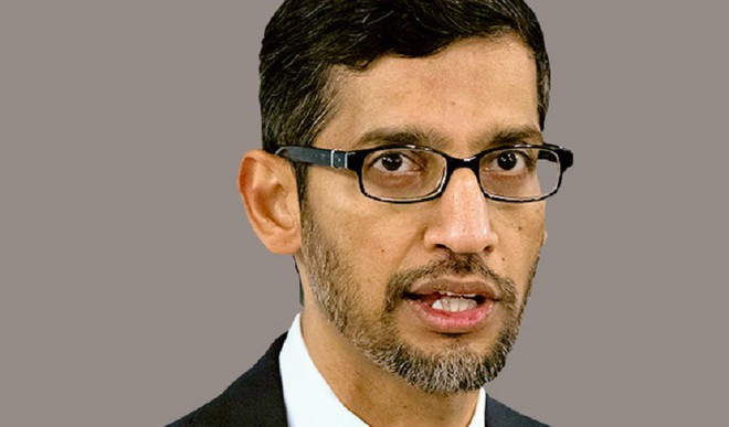 Sundar Pichai Takes Helm Of Alphabet