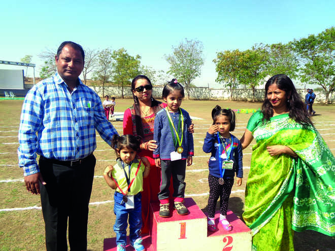 Inter School Sports Meet at DPS Rajkot