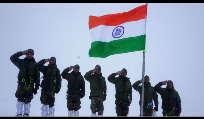 Prachi's Poem On 'Indian Soldiers'