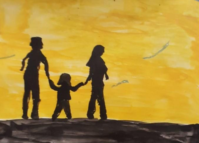 Deneise' Painting Of  'My Family'
