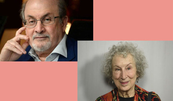 Salman Rushdie, Margaret Atwood Booker List