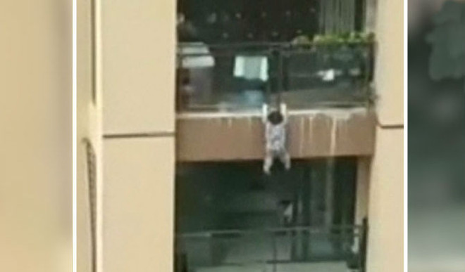 Toddler Miraculously Survives 6-Storey Fall