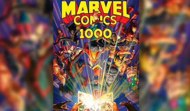 Marvel Celebrates 80th Anniv With Massive Comic