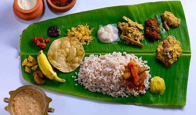 Look At The Delicious Onam Sadhya