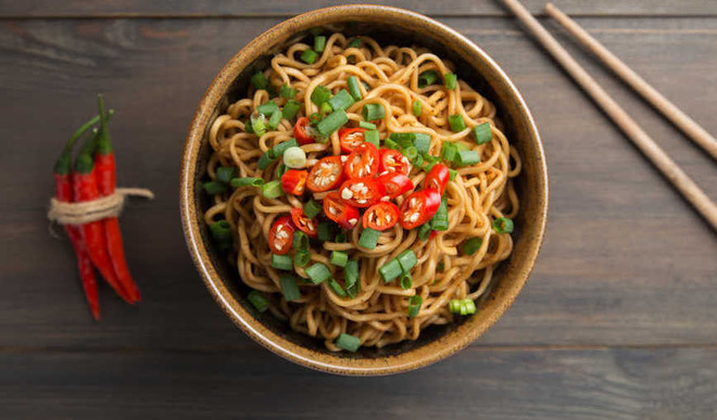 Tasty Spicy Stir-Fry Noodles